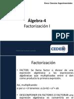C4 Factorización I