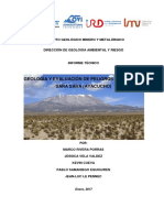 Geologia y Evaluacion de Peligros Del Volcán Sara Sara