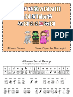 Halloween Secret Message