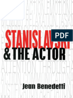 stanislavski and the actor