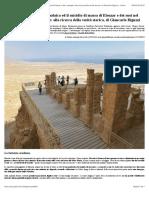 Masada, la prima rivolta giudaica ed il suicidio di massa di Eleazar e dei suoi nel racconto di Flavio Giuseppe