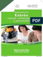 Guia Para El Estres Causas Consecuencias y Prevencion ISSSTE