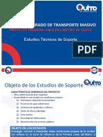 1-Estudios Tecnicos de Soporte-Ing Edgar Jacome Metro-De-quito