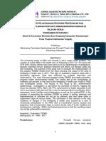 18790 ID Evaluasi Pelaksanaan Program Pencegahan Dan Penanggulangan Penyakit Demam Berdar