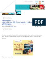 Learn Linux DD Command - 15 Examples With All Options