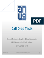 Tf3 1510 Maiden Call Drop Tests 1