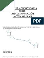 Diapositivas Hazen Williams Victor