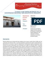 Ficha Del Museo Unsa
