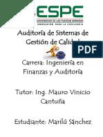 Foro 1 Auditoria SGC-Marilu Sanchez