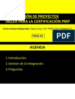 Tema 2 - Gestion de La Integracion