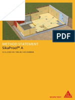 SikaProof a Method Statement