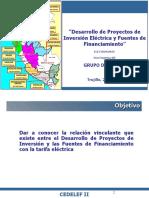 Desarrollo de Proyectos de Inversion - Ensa