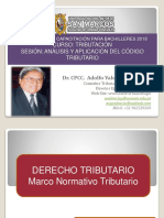 Analisis e Interpretacion Codigo Tributario PPT