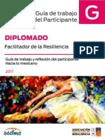 Guia de Trabajo Resiliencia y Lo Mexicano 2017
