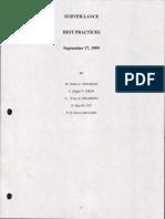 8. Surveliance Best Practices