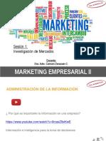 MKT II-Investigacion de Mercados Sab 22-04-17- ULADECH Sesión 1