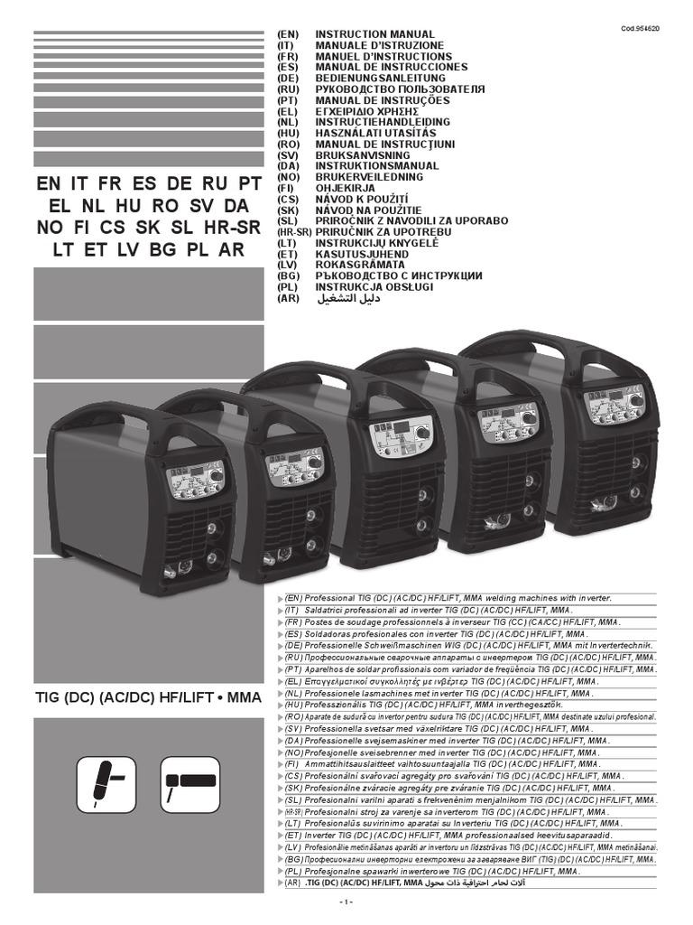 Manual Technology 222 Ac Dc