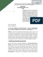 Casación 18355-2016 Lima - Principio de Favorecimiento Del Proceso en Lo Contencioso Administrativo - Compilador José María Pacori Cari