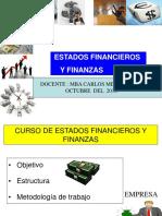 Ppt Curso de Titulacion Estados Financieros y Finanzas