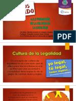 11presentacion Cultura de La Legalidad