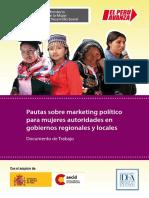 Pautas Sobre Marketing Político Para Mujeres