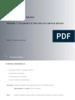 Subtopic 1 Customer Orientation