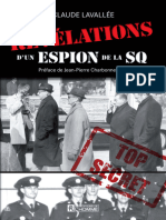 Claude Lavallee Jean-Pierre Charbonneau - Revelations Dun Espion de La SQDetatoue
