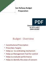 Railway Budget Preparation