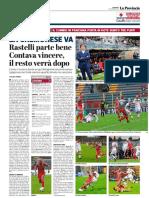 La Provincia Di Cremona 11-11-2018 - La Cremonese Va