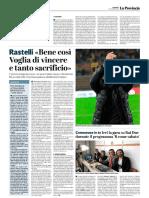 La Provincia Di Cremona 11-11-2018 - Rastelli