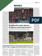 La Provincia Di Cremona 11-11-2018 - Polpacci & Nuvole