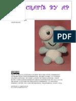 Crocheted Keroppi Amigurumi-1
