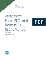 GFK1645L VersaMax Miano Users Manual