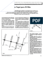 Antena Yagui Para 50 Mhz (Radioarmador)