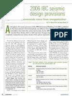 2006 IBC Seismic Design Provisions