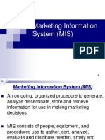 3.Marketing Information System (MIS)