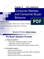 4.Consumer Markets and Consumer Buyer Behavior