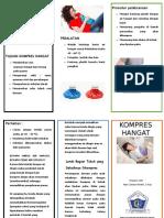 Leaflet Kompres Hangat Gastritis Print