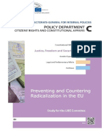 Preventing Terrorism Student Policy Report