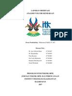 Analisis Volume Kendaraan Jalan Syarifuddin Yoes Balikpapan Utara