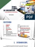 Inspección Técnica Ambiental en Obras de Construcción
