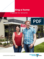 Renting a Home a Guide for Tenants