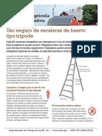 Guia Para Uso de Escaleras en Huertos