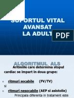 SUPORTUL VITAL AVANSAT- predare.ppt