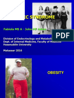 Kuliah - Obesity - Metabolic Syndrome 2016
