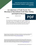 Katherine Linton Importance of Trade Secrets 0