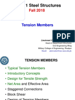 Lec 2b - Tension Members