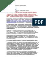 Aguer_Nueva Ley de Educación Sexual