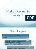 Market Opportunity Analysis 897 RIDOY
