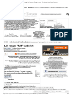 2.3l Ranger _full_ Turbo Kit - Ranger-Forums - The Ultimate Ford Ranger Resource